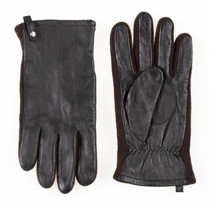 Недорогие кожаные перчатки O'stin