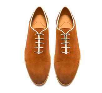 Туфли из спилка/шлифованной кожи (ZARA)