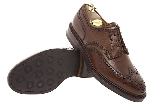 Туфли Crockett&Jones из grain leather