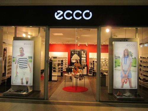 Один из магазинов Ecco в Казахстане