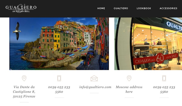 Gualtiero-website-screen