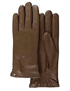 Кожаные перчатки Isotoner