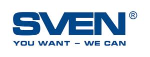 Логотип Sven