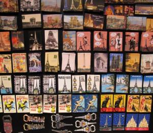 Магниты с парижской тематикой