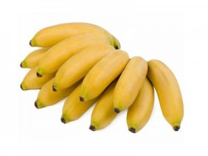 Маленькие желтые бананы