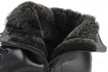 Овечий мех в зимних ботинках Paraboot