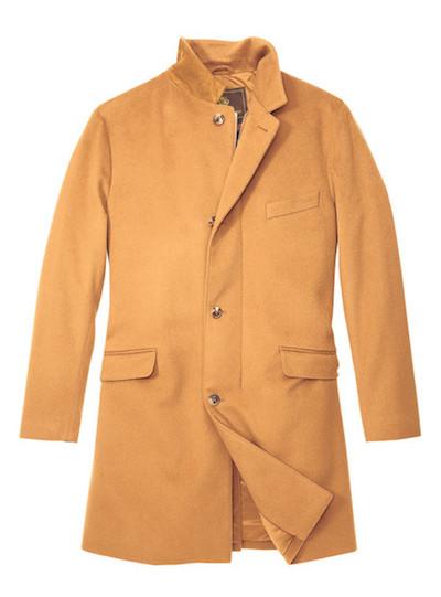 Пальто из викуньи