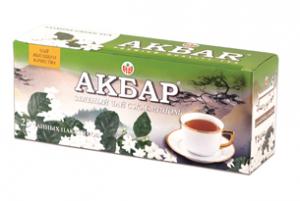 Зеленый чай Akbar