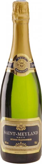 Бутылка Cremant de Bourgogne
