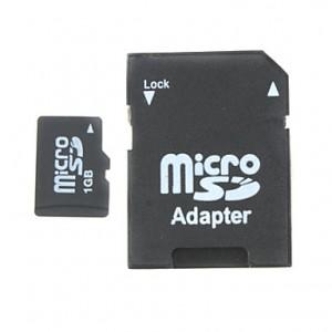 Карта microSD с адаптером