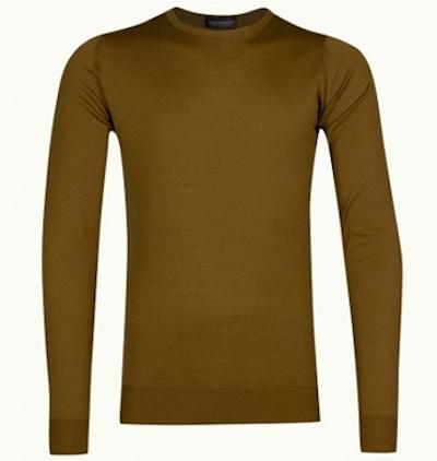 John Smedley - fully fashioned свитер