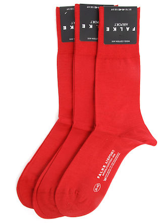 Красные носки Falke