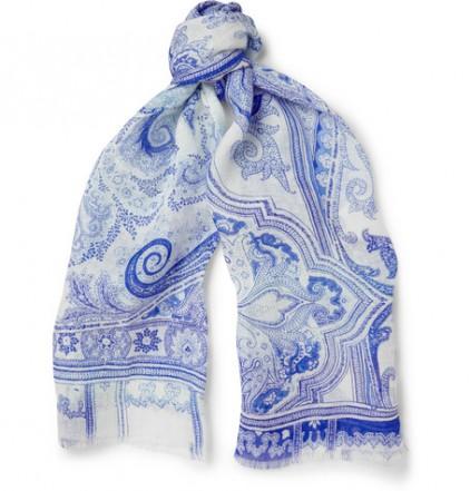 Льняной шарф Etro