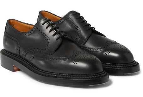 французские туфли броги
