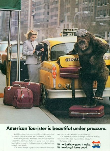 American Tourister - ad 1980s