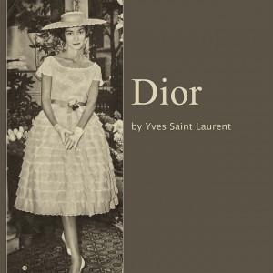 Платье из коллекции Dior 1958 года