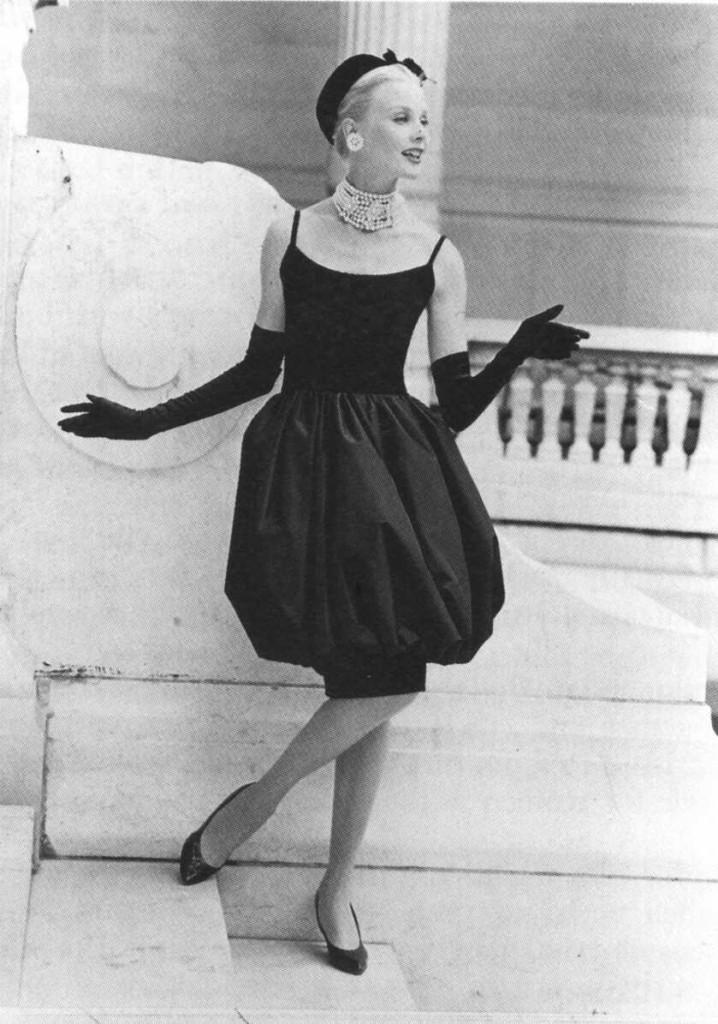 Платье из коллекции Dior 1959 года
