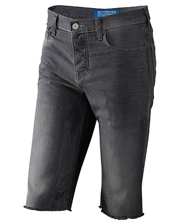 Длинные джинсовые шорты