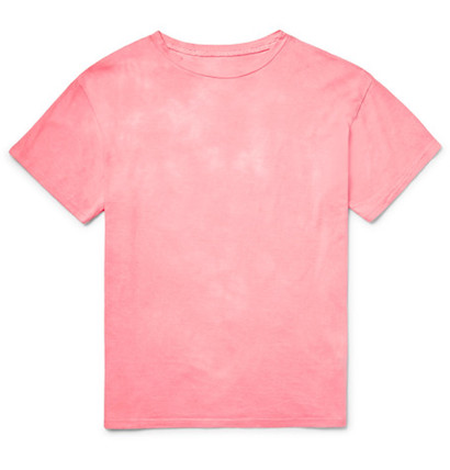 розовая футболка
