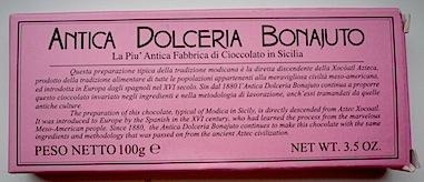 Коробка с шоколадом Antico Dolceria Bonajuto (1)