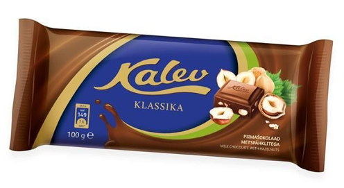 Молочный шоколад Kalev