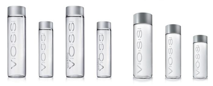 Всевозможные варианты воды VOSS