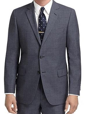 Универсальный серый костюм (Brooks Brothers 1818)