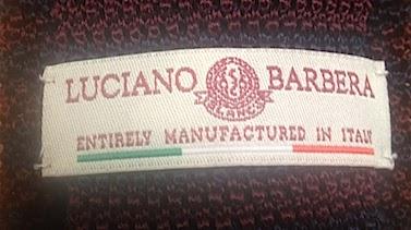 Одежда Luciano Barbera полностью производится в Италии