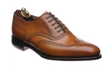 Классические коричневые туфли (Loake)