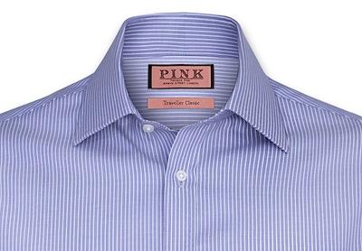 Одна из типичных полосатых рубашек (Thomas Pink)