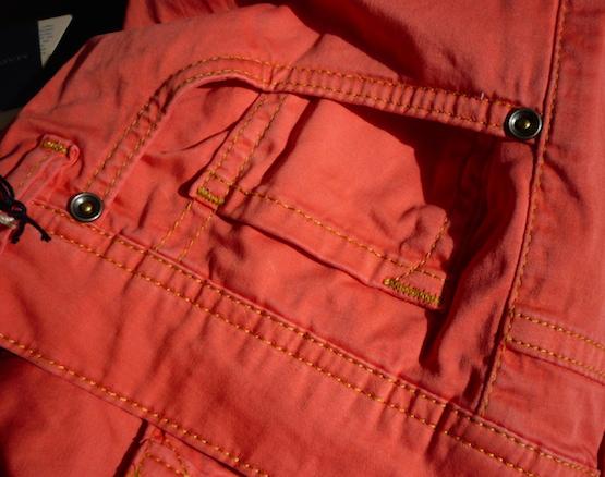 Пятикарманные брюки марки Gent's Stuff by Harridge