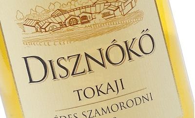 Этикетка вина Diznoko Tokaji Szamorodni Edes