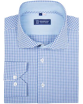 Рубашка Henderson в клетку гингем