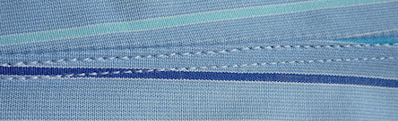 single-needle stitching - unusual one