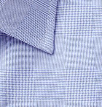 Рубашка в клетку Принц Уэльский (Turnbull&Asser)