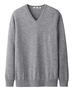 свитер из шерсти мериноса