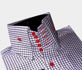 Рубашка с воротником на 5 пуговицах