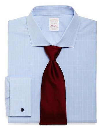 Рубашка Brooks Brothers из хлопка Sea Island