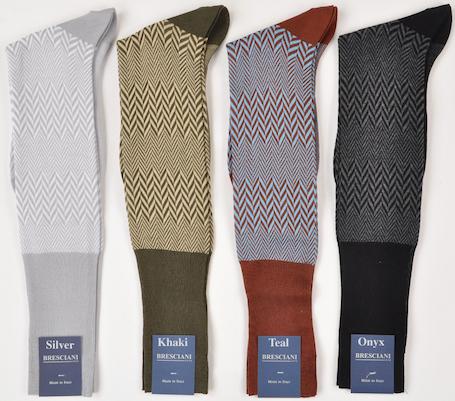 Носки Bresciani из египетского хлопка