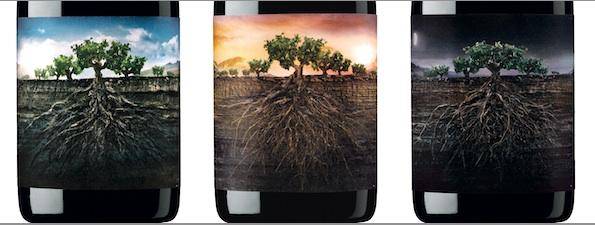 Этикетки вин Proyecto Garnachas da Espana