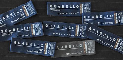 Guabello etichette