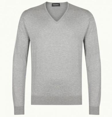 Пуловер John Smedley из хлопка Си Айленд