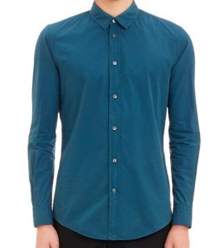 Рубашка Maison Martin Margiela (garment-dyed)