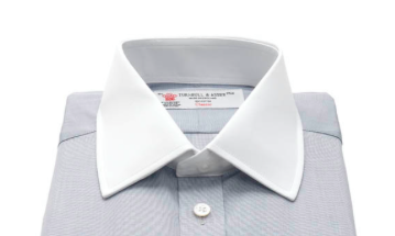 Non-fused collar (рубашка Turnbull&Asser)