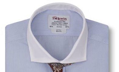 Cutaway collar (рубашка T.M.Lewin)