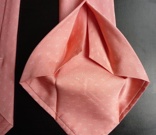 галстук в шесть сложений
