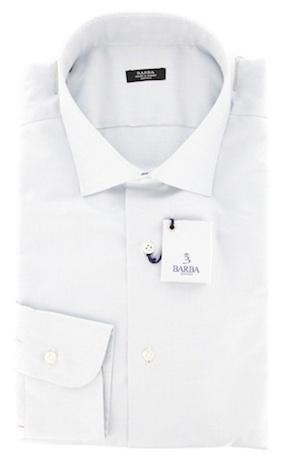 Рубашка с легким серым отливом (Barba)
