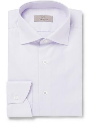 Рубашка с лиловым отливом (Canali)