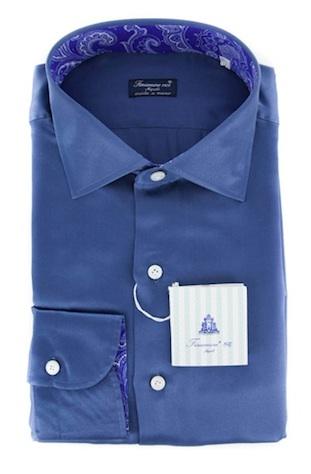 Шёлковая рубашка Finamore