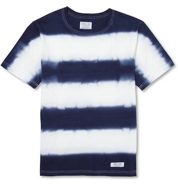tie-dyed футболка